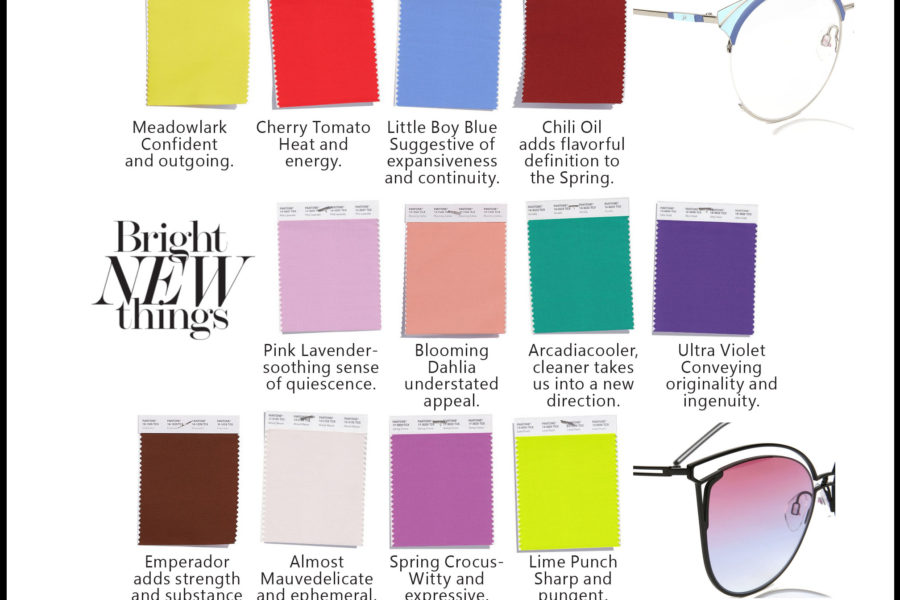 TRENDS  12 Call-Out Shades Spring/Summer